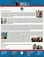 Jonathan and Brittany Beil Prayer Letter:  Serving God in the Midst of Another Shutdown