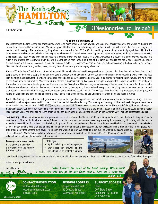 thumbnail of Keith Hamilton Mar-Apr 2021 Prayer Letter