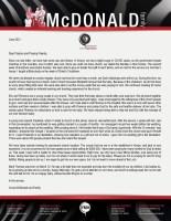 Corey and Elizabeth McDonald Prayer Letter: Mark Thomas McDonald Has Arrived!