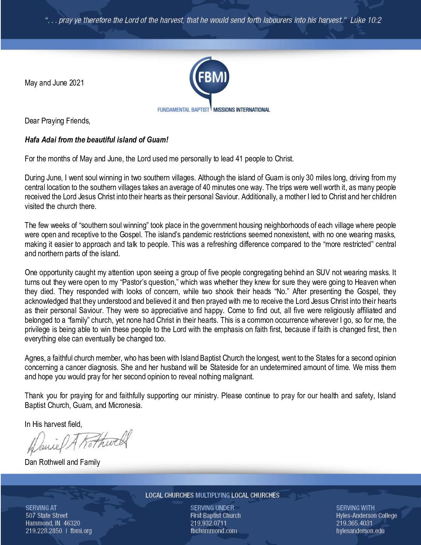 thumbnail of Dan Rothwell May-Jun 2021 Prayer Letter