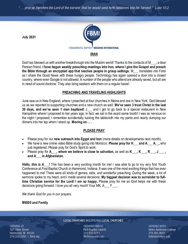 thumbnail of M6505 July 2021 Newsletter