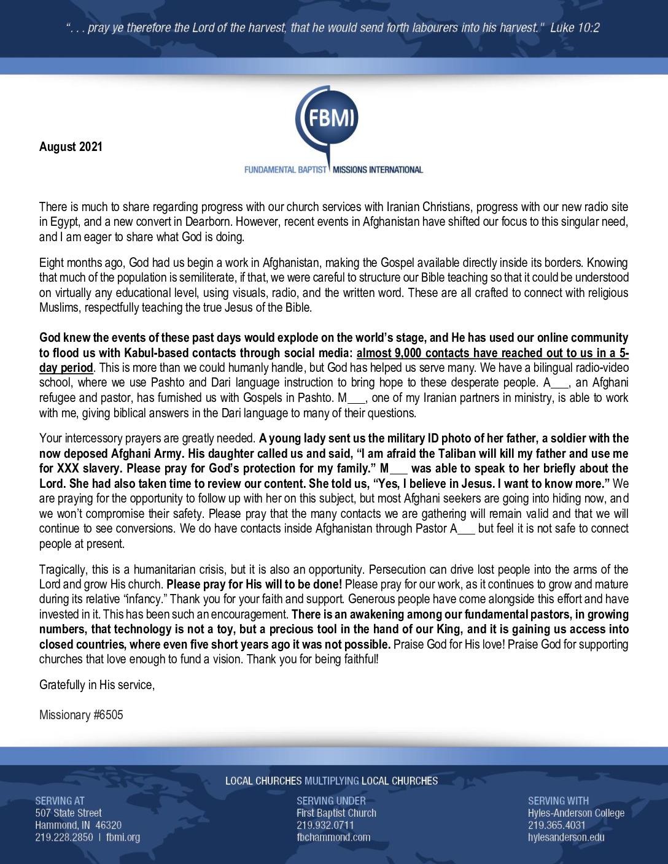 thumbnail of M6505 August 2021 Newsletter