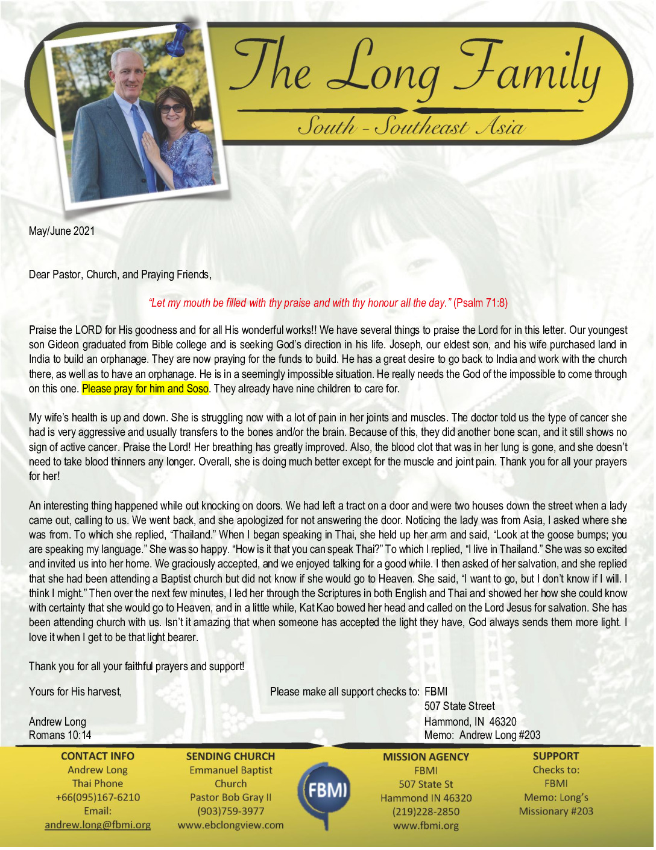 thumbnail of Andrew Long May-Jun 2021 Prayer Letter