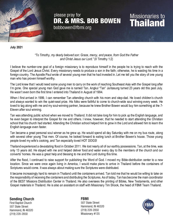 thumbnail of Bob Bowen Jul-Aug 2021 Prayer Letter