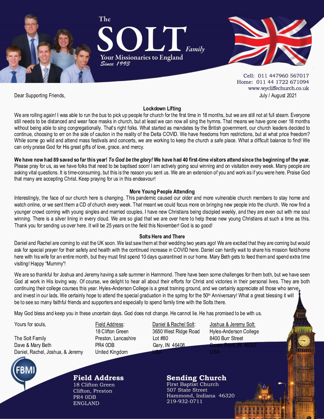 thumbnail of Dave Solt Jul-Aug 2021 Prayer Letter
