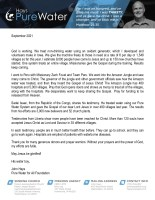 John Hays Prayer Letter: Without Your Prayers and the Power of God, My Efforts Are Futile!