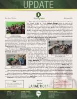 Larae Hoff Prayer Letter: A Great Start to Deputation!