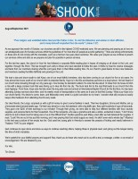 Tim and Missy Shook Prayer Letter: Pure Religion