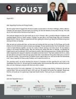 Zach Jr. and Cassandra Foust Prayer Letter: Great Month of August!