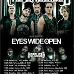 Europa Tour 2016, The Unguided, Eyes Wide Open, Hopelezz