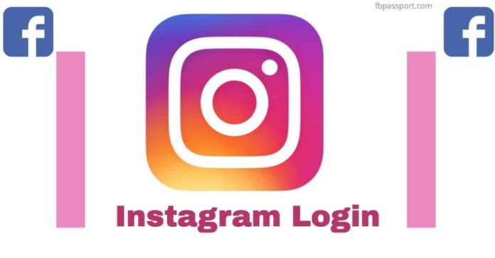 instagram login with facebook now