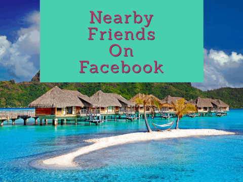 FB nearby friends feature