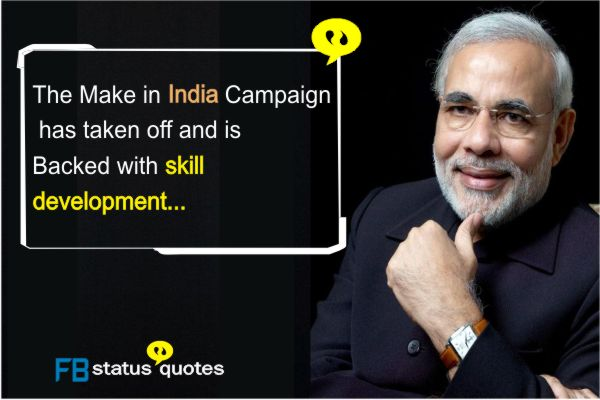 Narendra Modi Quotes in english