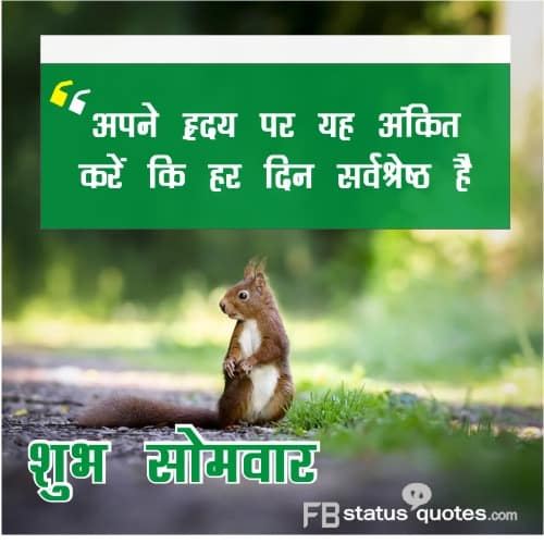 Good Morning Tuesday in Hindi Images