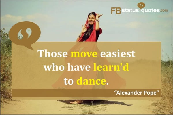 Dance Quotes  in english
