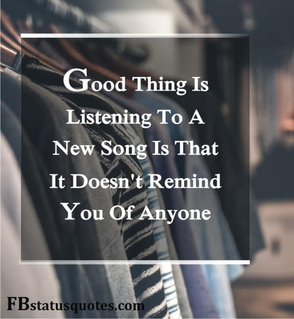 Good Thing Is Listening To A New Song
