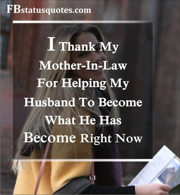 Mother In Law Quotes In English