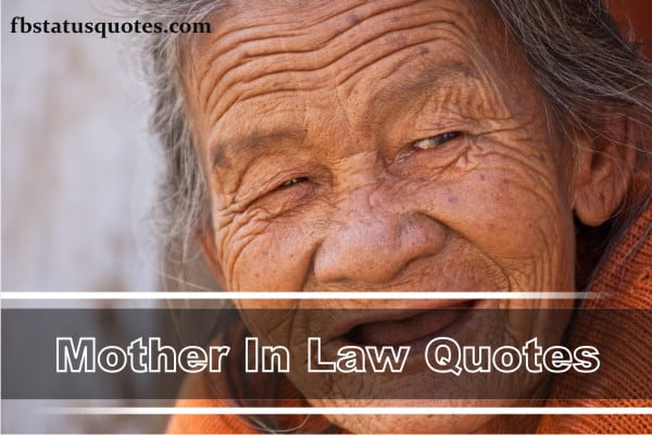 Mother In Law Quotes