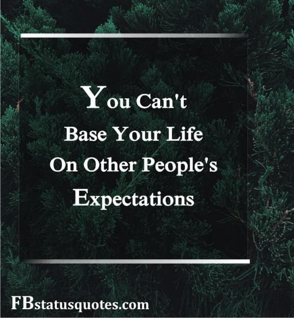 Status On Expectations