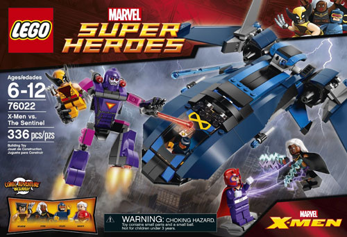 76022 X-Men vs. The Sentinel