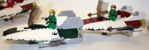 A-Wing Side Views