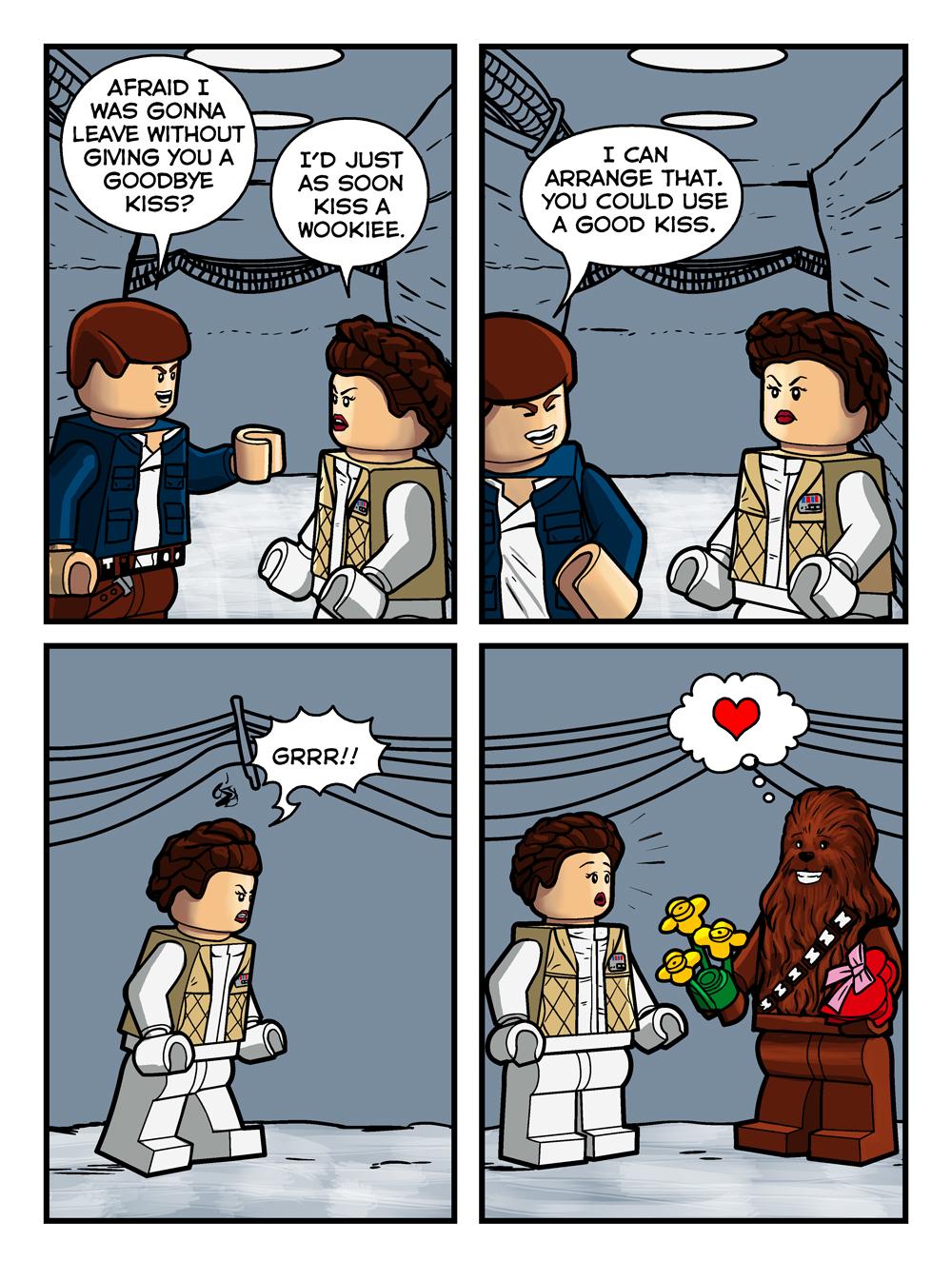 Bricklandia Comic #1