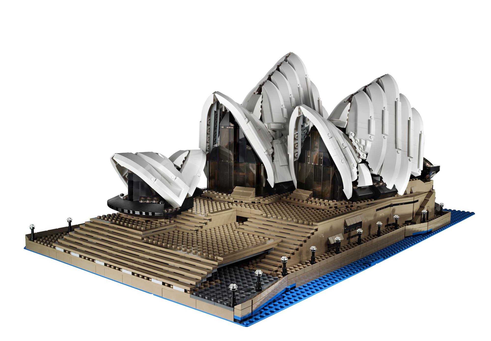 Lego set #10234 - Sydney Opera House