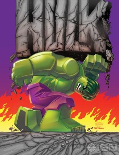 Indestructible Hulk #14 LEGO Variant