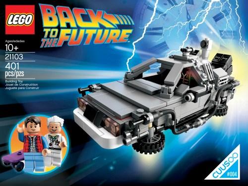 21103 The DeLorean Time Machine
