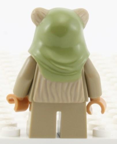 Ewok (Green Hood) - Back