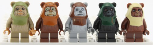 Ewoks - All Mold Recolors