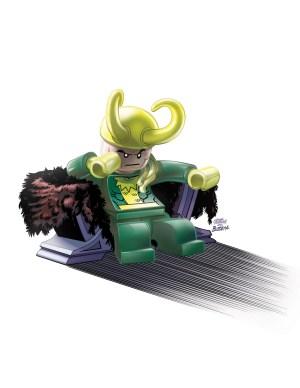 Thor God Of Thunder #14 -LEGO Variant