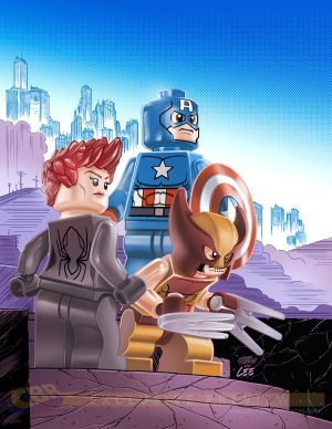 Uncanny Avengers #12 - LEGO Variant