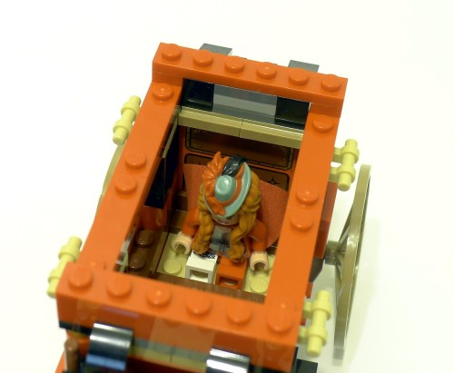 79108 Stagecoach Interior with Red
