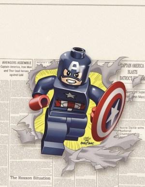 Captain America #12 - LEGO Variant