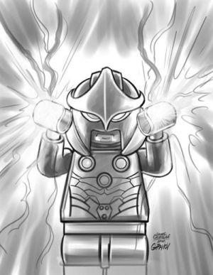 Nova # 8 - LEGO Sketch Variant