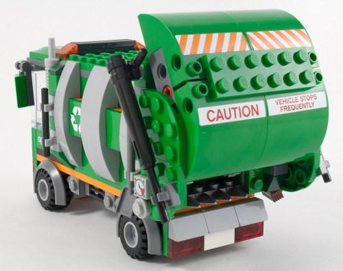 70805 - Garbage Truck Back Open