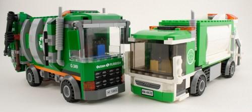 70805 - Garbage Truck Comparison
