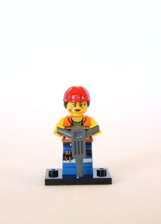 The LEGO Movie Minifigures - Gail the Construction Worker 1