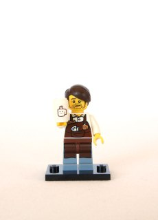The LEGO Movie Minifigures - Larry the Barista 1