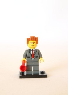 The LEGO Movie Minifigures - President Business 1