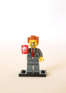 The LEGO Movie Minifigures - President Business 2