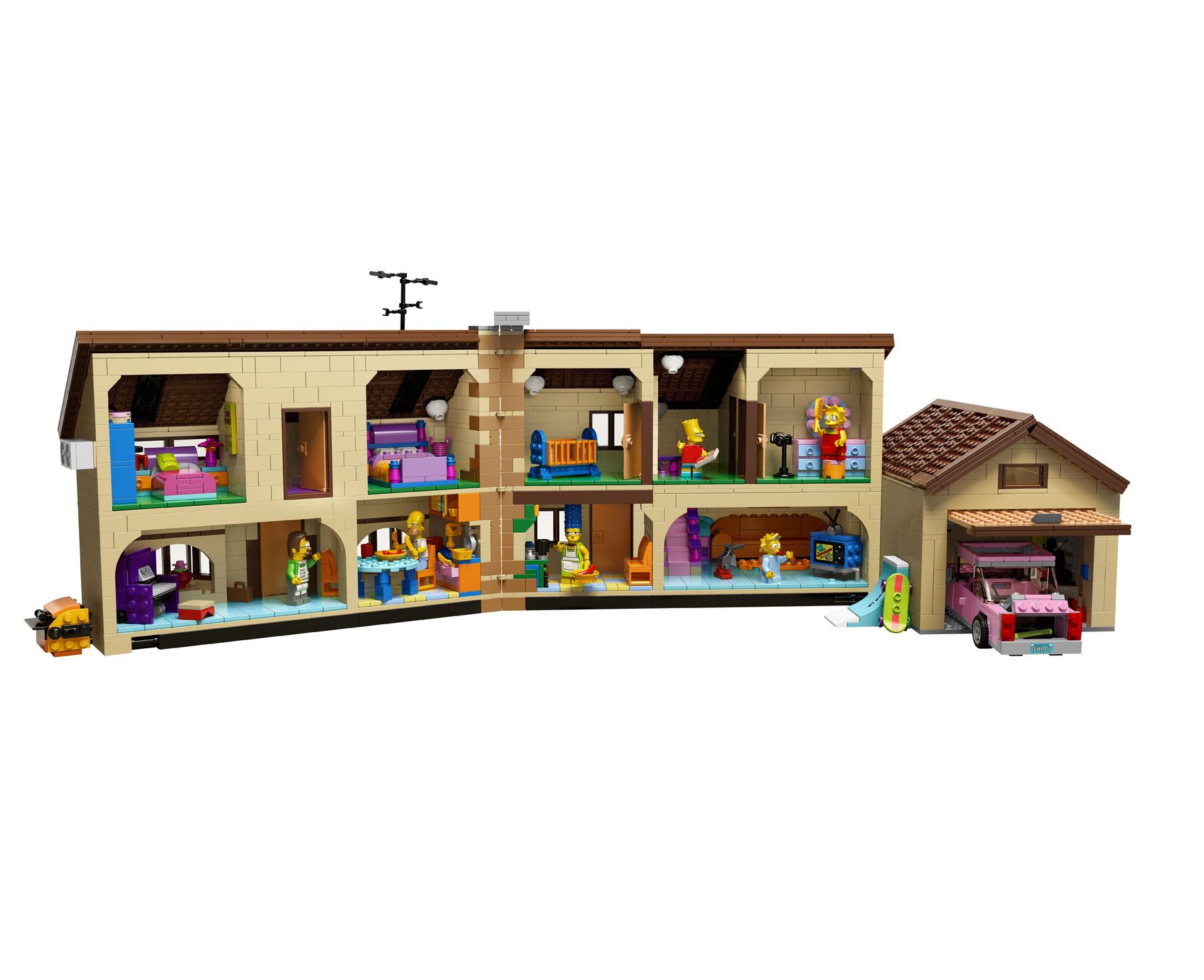 LEGO Reveals 71006 The Simpsons House - FBTB
