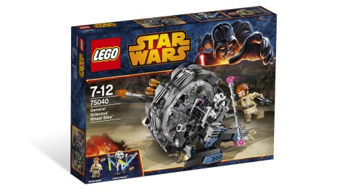 75040 General Grievous' Wheel Bike 1