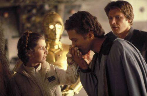 Leia and Lando