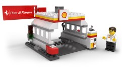 Shell Station & LEGO Minifigure
