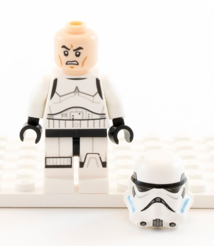 75090 - Stormtrooper Unhelmeted