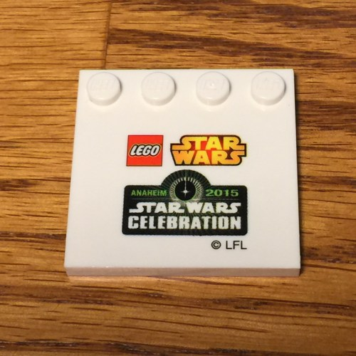 LEGO SWC Mini Builds Plate