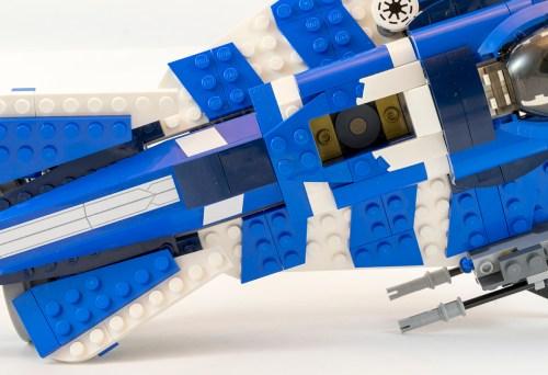 75087 Custom Jedi Starfighter Top