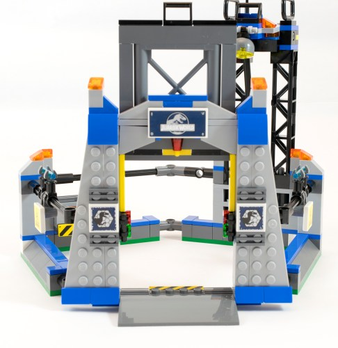 75920 Raptor Cage Gate Open